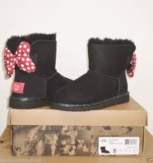 ugg boots sale ebay uk ugg s disney sweetie bow boot limited edition 5us black