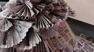 the newspaper dress youtube