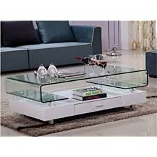Glass And Chrome Coffee Table Glass Top White Gloss Coffee Table Chrome Legs With Drawer Living