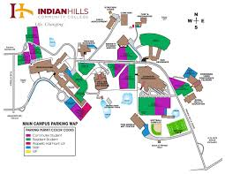 Usc Parking Map Indian Hills Community College Vehicles And Parking