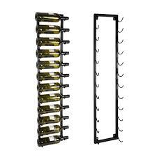 metal wall wine rack hang up winerack plus co uk