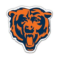 Chicago Bears Nfl Chicago Bears 12 Inch Vinyl Logo Magnet Sports