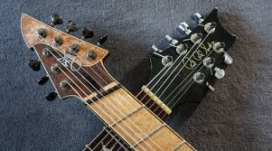 fanned fret 7 string time has come a made man prs private stock 7 string vik