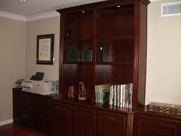 Desk With Printer Storage Custom Home Office Cabinets Cabinet Wholesalers