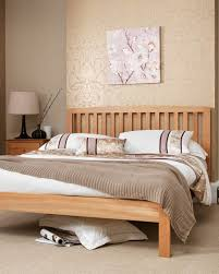 curved bed frame wooden oak bed frame with curved headboard thornton serene