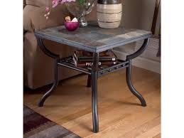 Ashley Kitchen Furniture by Signature Design By Ashley Antigo Slate Top Square End Table
