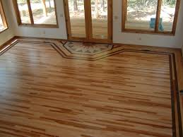 1 hickory with a walnut border ozark hardwood flooring hickory