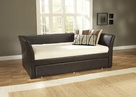 Daybed Mattress Slipcover Bedroom Decorative Daybeds With Trundle With Wood Frame And
