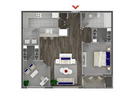 2 Bedroom Condo Floor Plans Studio 1 U0026 2 Bedroom Apartments In Atlanta Highland Walk