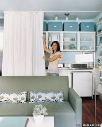 Kitchen Cabinet Curtains 5 Ways To Use Fabric Doors In Your Home