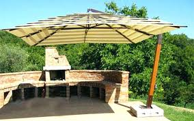 Largest Patio Umbrella Large Offset Patio Umbrella Patio Umbrella 5 X 8 Rectangular