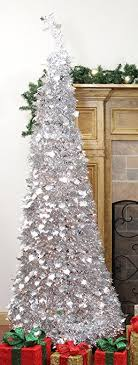 northlight 31105060 pre lit pop up silver tinsel