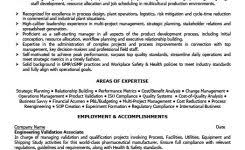 Quality Assurance Manager Resume Sample by Sample 2 In Letter To The Author Example The Best Letter Sample