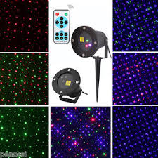outdoor lawn dynamic laser projector lights stage garden