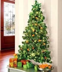 unique ideas half christmas tree for wall best 25 on pinterest