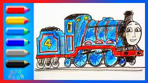 let u0027s draw gordon the big engine thomas and friends animated