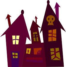 spooky house clipart clipart spooky house