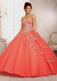 quinceanera dresses coral quinceanera dresses coral fashion hairstyle trends