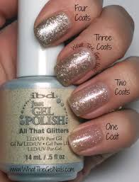 ibd all that glitters plus more christmas gel nail colors nails