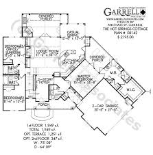 hot house plans hot springs cottage house plan 08142 1st floor plan craftsman