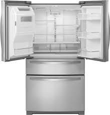 Whirlpool Inch French Door Refrigerator - whirlpool 26 2 cu ft 4 door french door refrigerator with thru