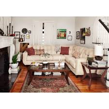 west village 2 piece sectional cream american signature furniture