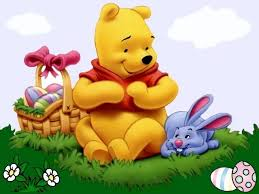 winnie the pooh easter eggs disney easter winnie the pooh and bunny wallpaper puzzles