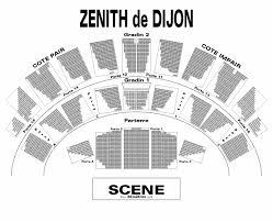 zenith plan salle billets jesus zenith de dijon dijon musical musical