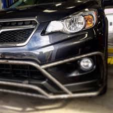 grey subaru crosstrek lp aventure bumper guard for the subaru xv crosstrek will be