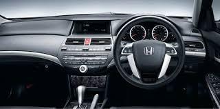 2008 Honda Accord Interior 8th Generation 2008 Honda Accord Launched