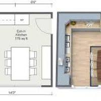 eat in kitchen floor plans kitchen plan justsingit