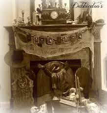 mantel decorations ideas u0026 inspirations spooky gothic