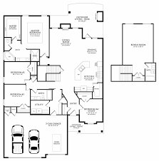 Garage Floor Plans With Bonus Room by Mallory Bonus Room 2 Floor Plan Homes By Taber