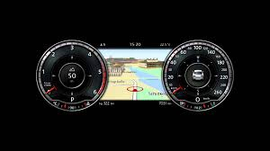 volkswagen dashboard is the new tft 12 3 inch screen in vw passat 2015 dashboard a real