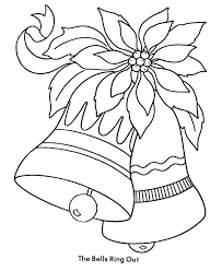 christmas bells coloring pages getcoloringpages