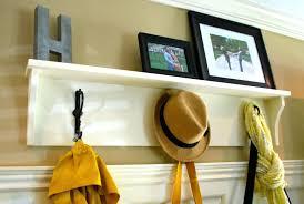 wall mounted coat rack mounted coat rack shelf handmade wall mount rustic wood with a