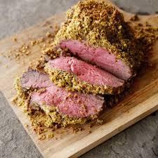 Salt Crusted Beef Tenderloin by Pistachio U0026 Parmesan Herb Encrusted Beef Tenderloin Recipe