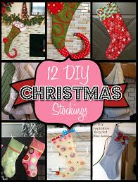 12 christmas stocking patterns and ideas christmas inspiration
