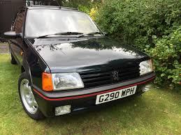 peugeot 205 used 1990 peugeot 205 gti for sale in cumbria pistonheads