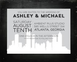 wedding invitations atlanta wedding invitation atlanta amulette jewelry