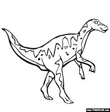dinosaur online coloring pages page 1
