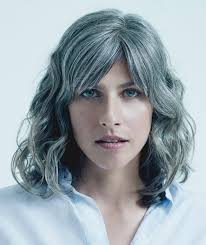 images of sallt and pepper hair these 8 women will make you wish you had gray hair real simple