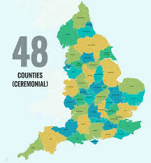 England On Map 40 Ways To Carve Up England