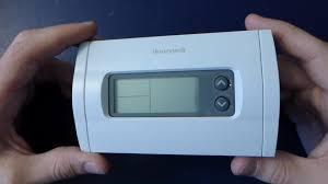 random teardown 006 honeywell rth230b thermostat youtube
