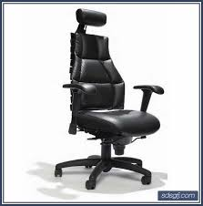 Desk Chair Leather Design Ideas Modern Black Leather High Back Computer Office Desk Chair Home