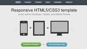 responsive design template 35 free high quality html5 responsive website templates web
