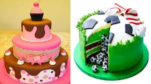 amazing cake decorating compilation 3 the most satisfying