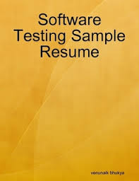 Sample Software Testing Resume by Sample Resume Of Software Tester Software Testing Resume Sample