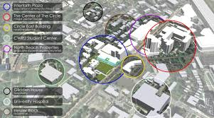 Cwru Campus Map University Circle Master Plan Ka Architecture