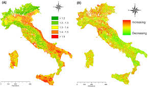 Italian Map Salvati R Salvati L Corona P Barbati A Ferrara A 2015